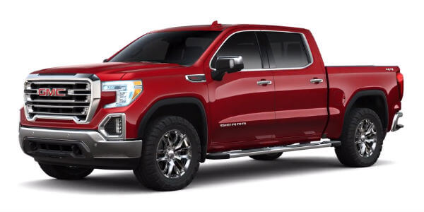 2019 GMC Sierra 1500 in Red Quartz Tintcoat