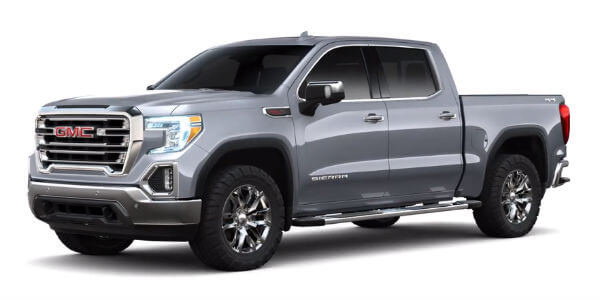 2019 GMC Sierra 1500 in Satin Steel Metallic