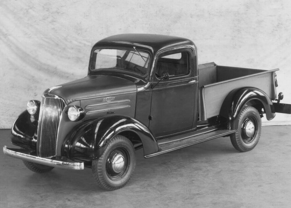Sleek 1937 Chevrolet GC Series truck