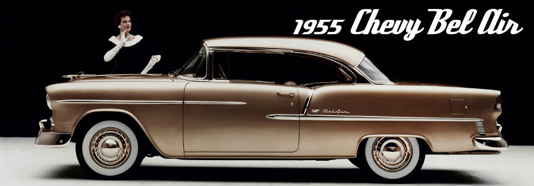 Flashback Friday: 1955 Chevy Bel Air Sport Coupe
