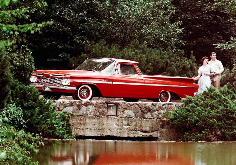 1959 Chevy El Camino elegant multipurpose date vehicle