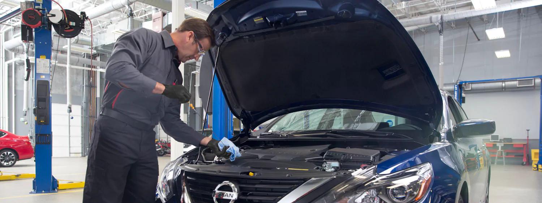 Oil Change at Regal Nissan