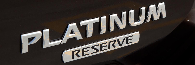 Nissan Platinum Edition Trims