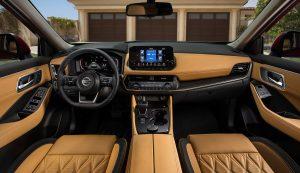2021 Rogue front interior