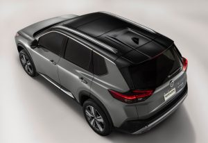 Aerial view 2021 Nissan Rogue
