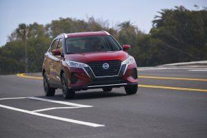 Red 2021 Nissan Kicks