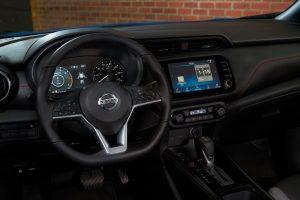 2021 Nissan Kicks steering wheel