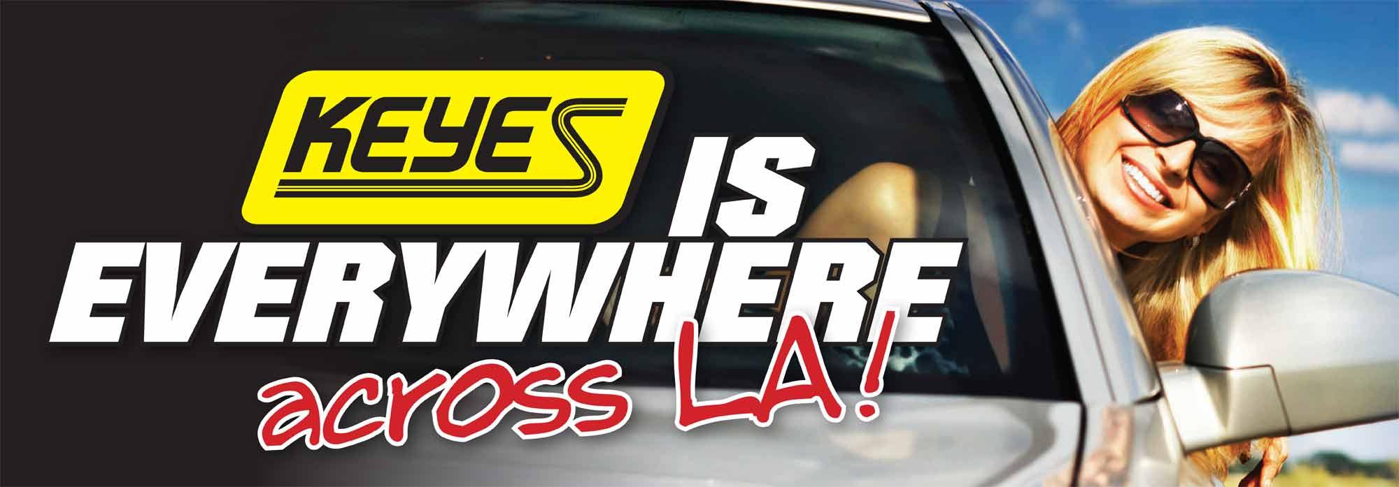 keyes is everywhere across la