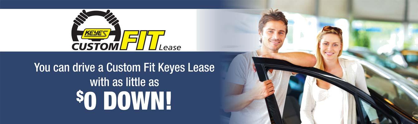 keyes custom fit lease