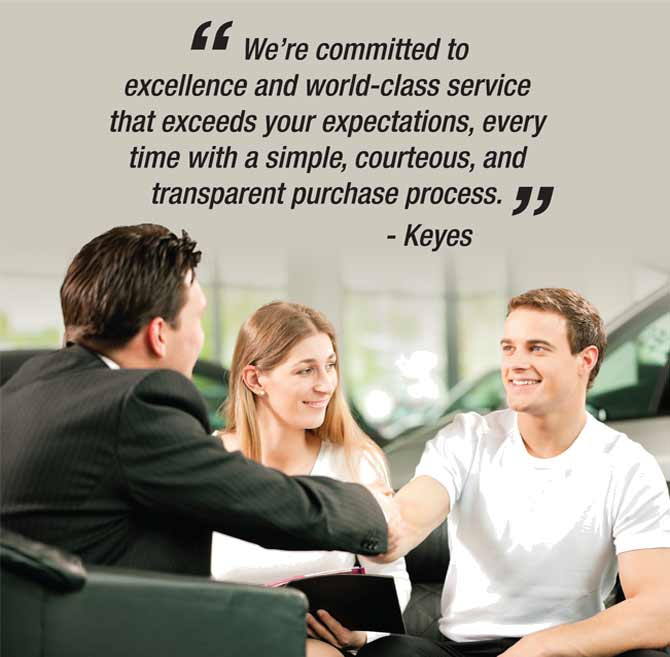 keyes custom fit commitment
