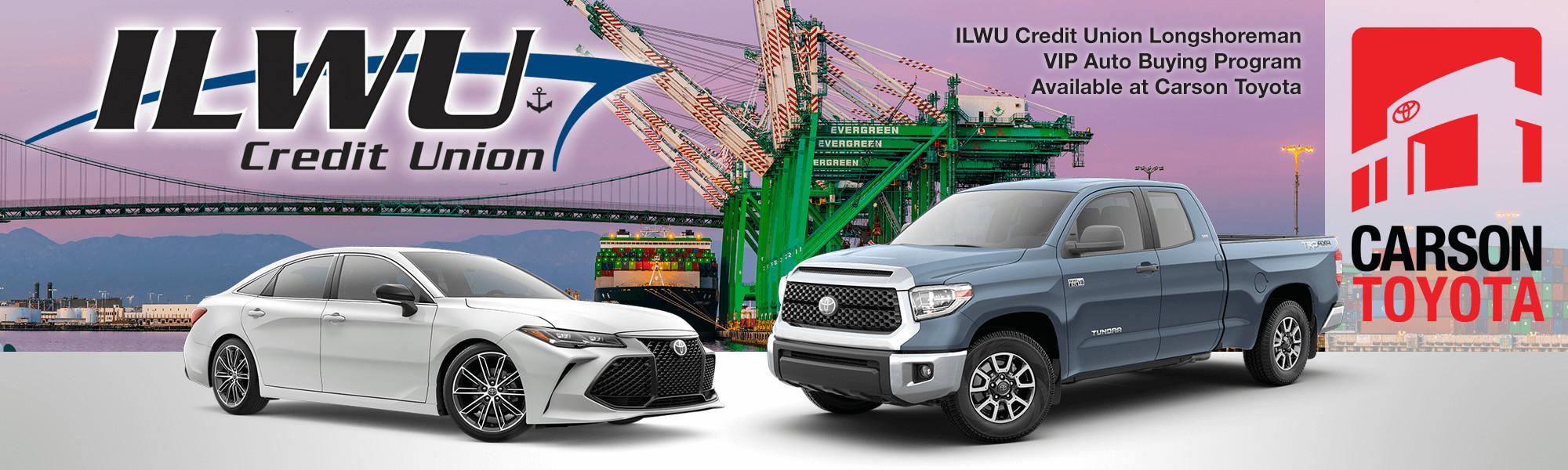 ILWU Credit Union Members Banner