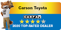 Carson Toyota Carfax 2020 Top Rated Dealer