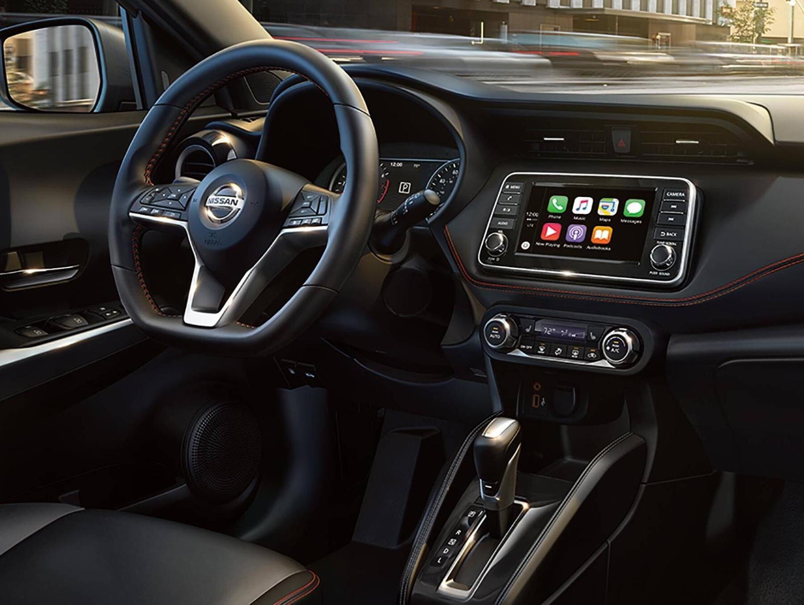 Nissan vehicle interior shot
