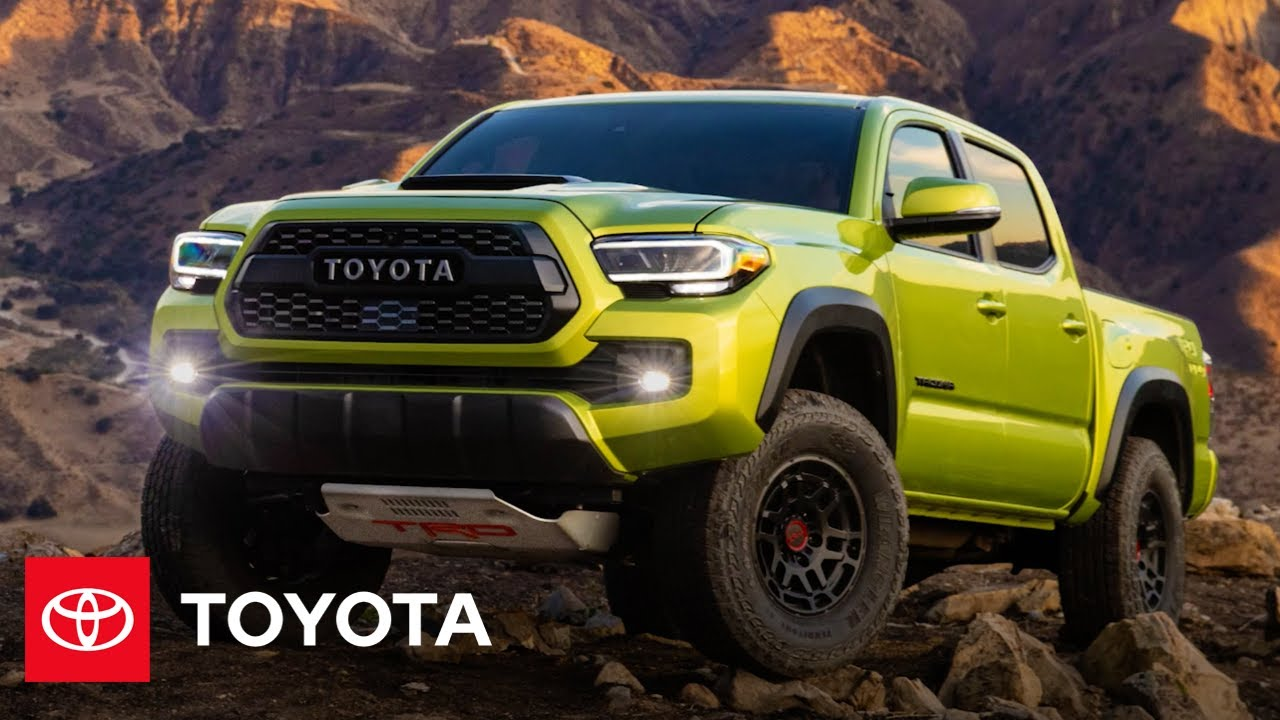 2022 Tacoma TRD Pro Reveal & Overview