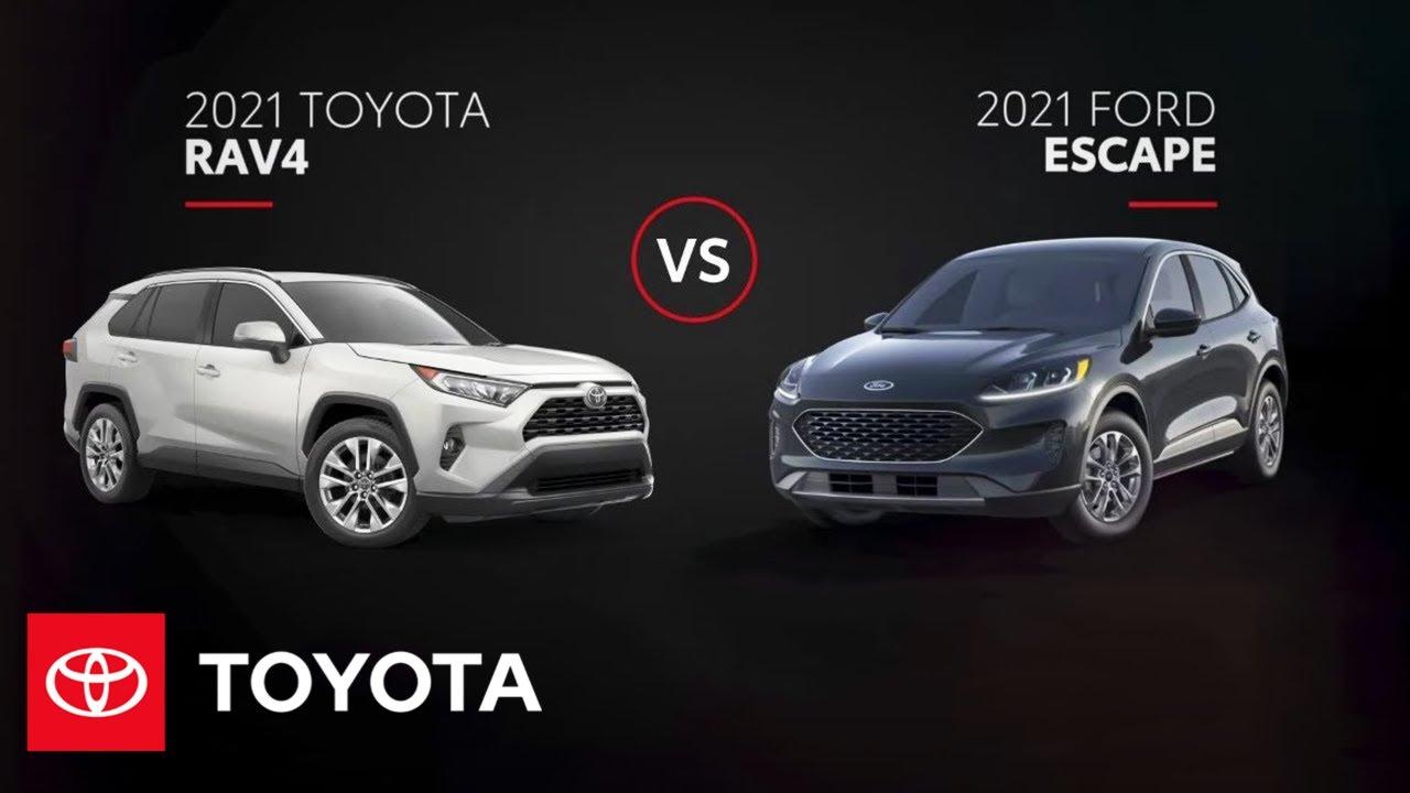 2021 Toyota RAV4 vs. 2021 Ford Escape
