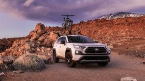 Exterior Appearance of the 2021 Toyota RAV4 at Hoover Toyota