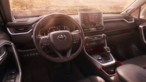 Interior Beauty of the 2021 Toyota RAV4 at Hoover Toyota