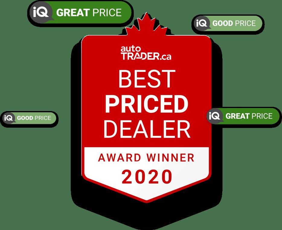 AutoTrader.ca Best Priced Dealer Award
