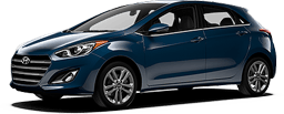 Hyundai Elantra GT in Blue Diamond