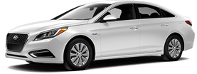 Hyundai Sonata Hybrid in Whitestone