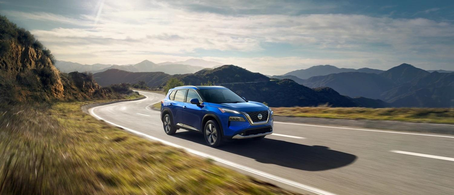 2021 Nissan Rogue Competitive Compare