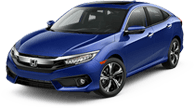 Honda Civic Sedan near Blue Jay