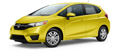Honda Fit serving Reseda