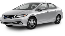 Honda Civic Hybrid near Temple City