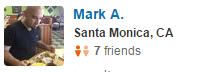 Santa Monica, CA Yelp Review