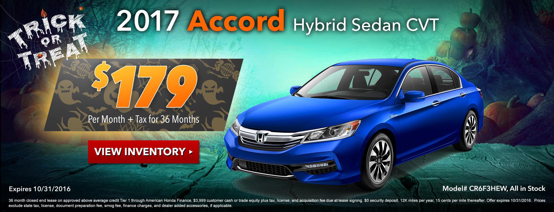Accord Hybrid Lease HP
