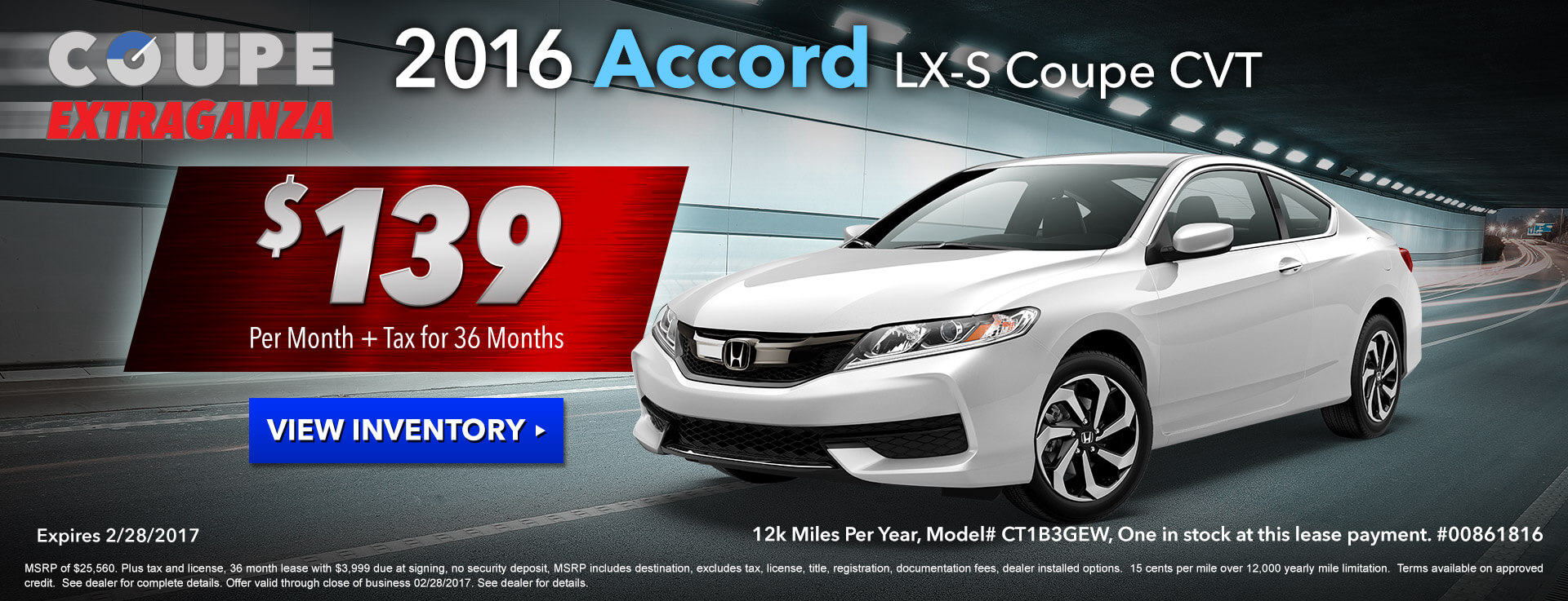 Accord Coupe HP