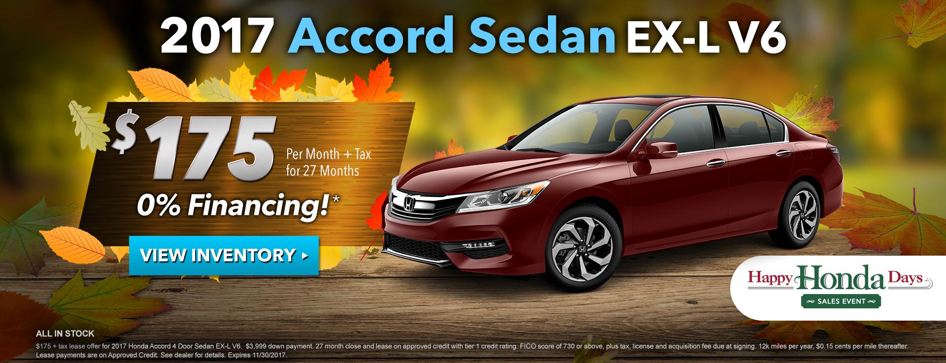 Accord EX-L V6