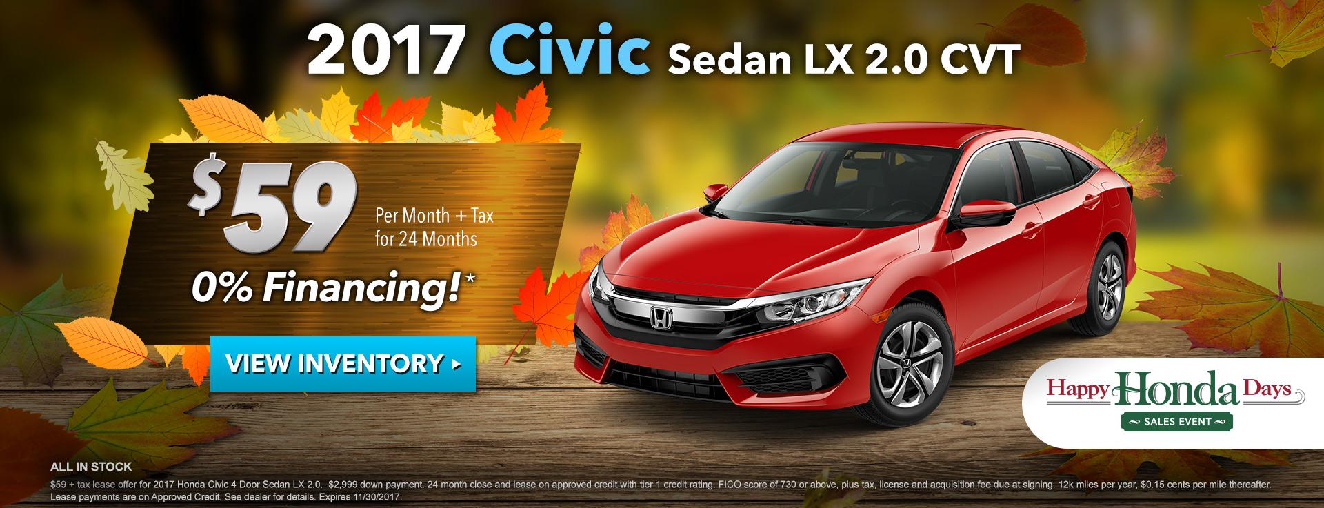 Civic LX 2.0