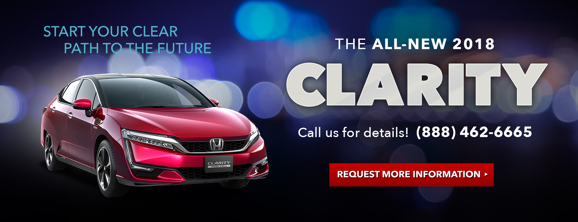Honda Clarity Evergreen