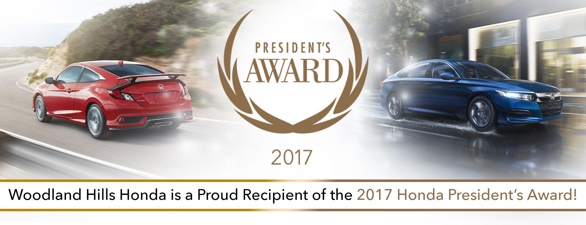 Honda Presidents Award