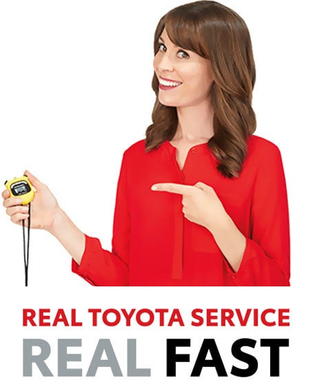 Real Toyota Service, Real Fast