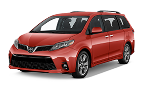 Toyota Sienna Rental at Premier Toyota of Amherst in #CITY OH