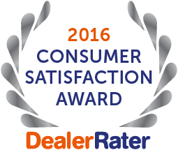 DealerRater Award Best Dealership 2016