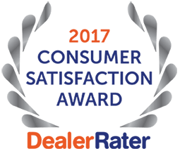 DealerRater Award Best Dealership 2017