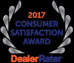 DealerRater Award Best Dealership 2017