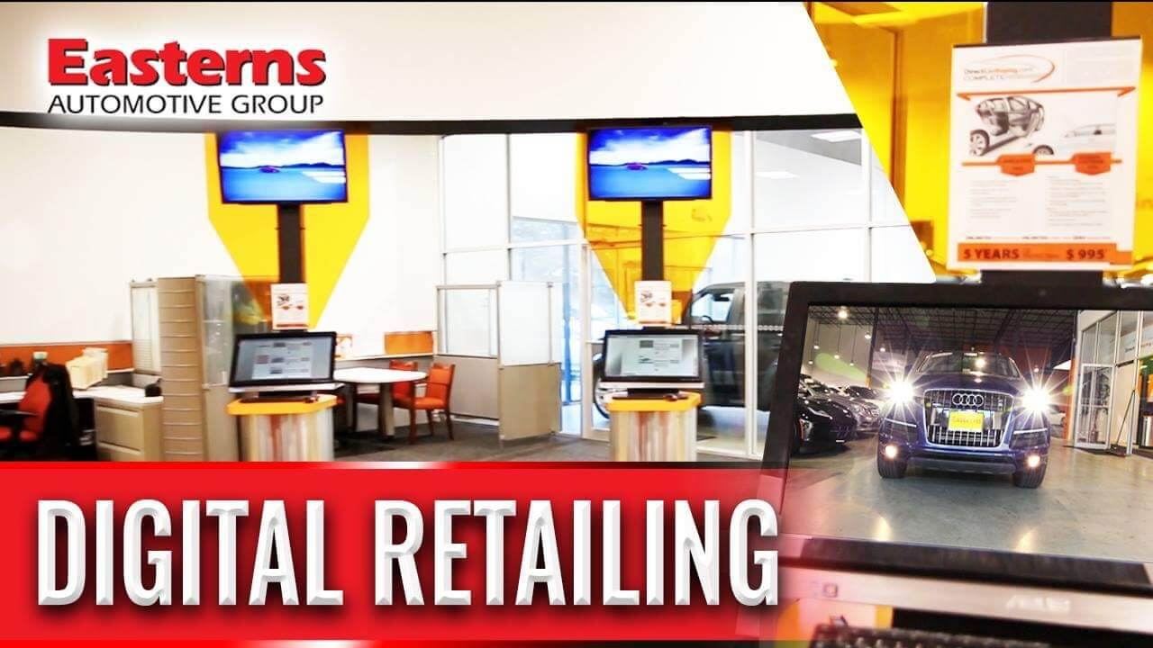 Our Digital Retailing Allows for More Convenient Shopping
