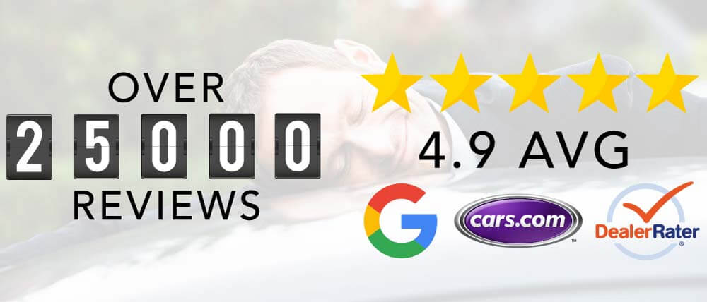 Over 25,000 Reviews