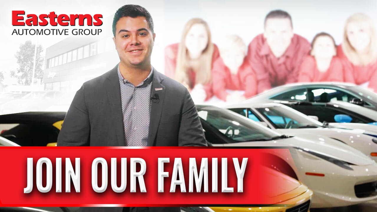 Join the Easterns Automotive Group Family