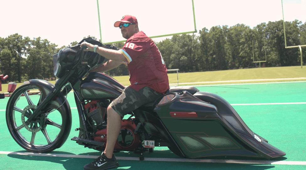 Redskins Rides – Chris  2011 Harley-Davidson Street Glide d4f33390f