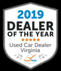 DealerRater Award Dealer of the Year 2019