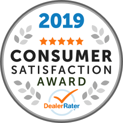 DealerRater Award Consumer Satisfaction Awards 2019