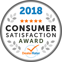 DealerRater Award Consumer Satisfaction Awards 2018