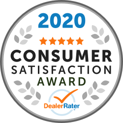 DealerRater Award Consumer Satisfaction Awards 2020