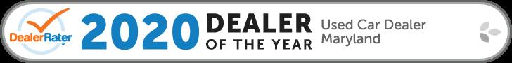 DealerRater 2020 Dealer of the Year