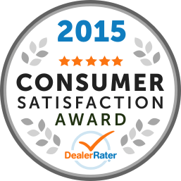 DealerRater Award Best Dealership 2015